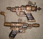 Steampunk Pistols (finished)