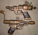 Steampunk Pistols (finished)