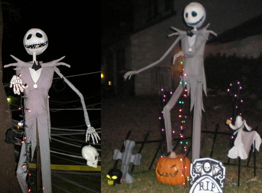 Jack skellington by shadowfox012 on deviantart - Jack skellington christmas decorations ...