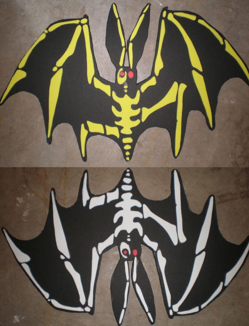 The Oogie Boogie Man's Bats by Shadowfox012 on DeviantArt