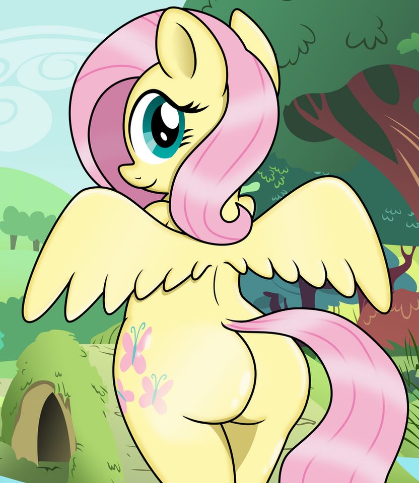 Flutter Butt by PANANOVICH