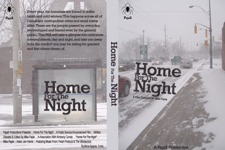 Home For the Night DVD Cover by black-adder