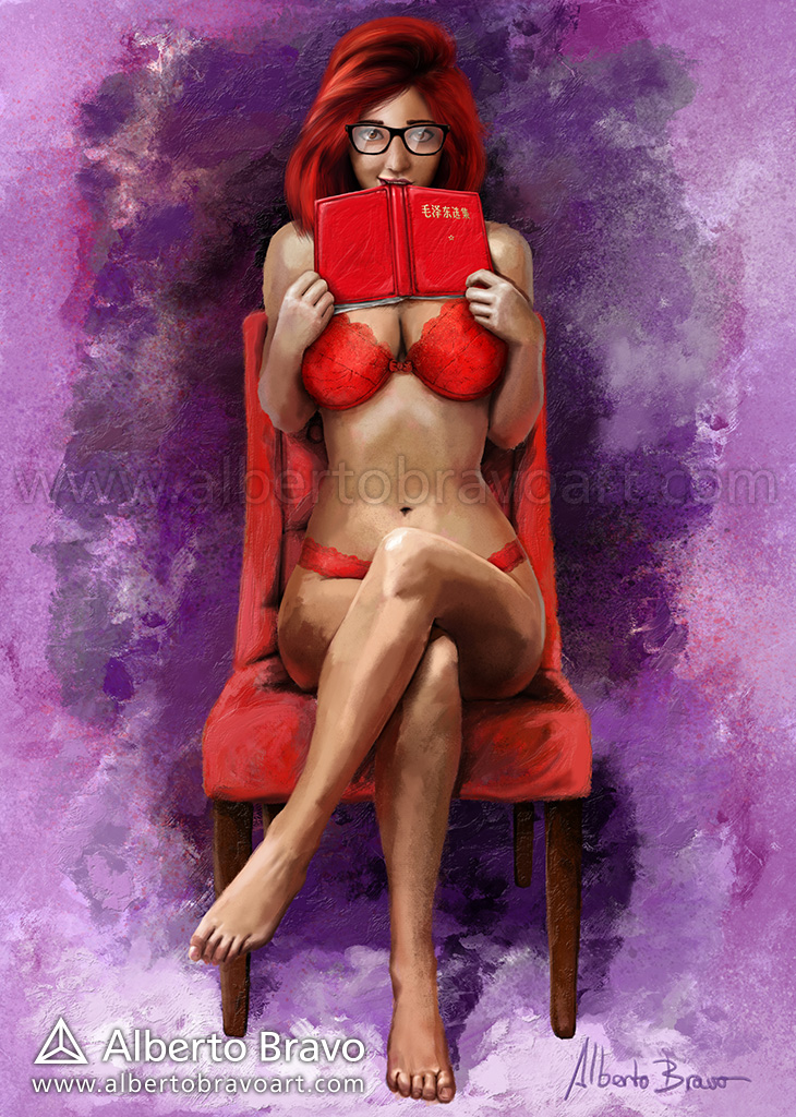 Red readings by AlbertoBravo