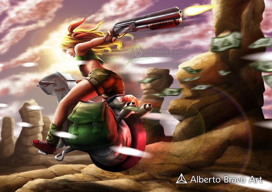 Launch (Dragon Ball) by AlbertoBravo