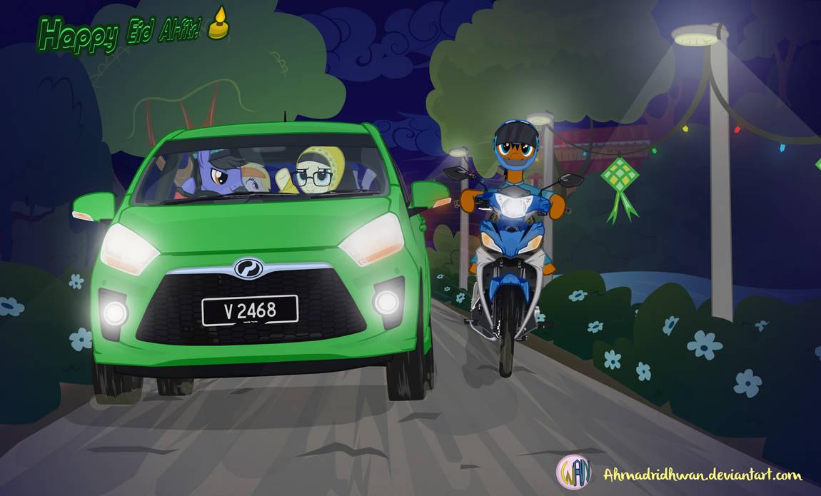 Chase Of Raya - Mlp by ahmadridhwan