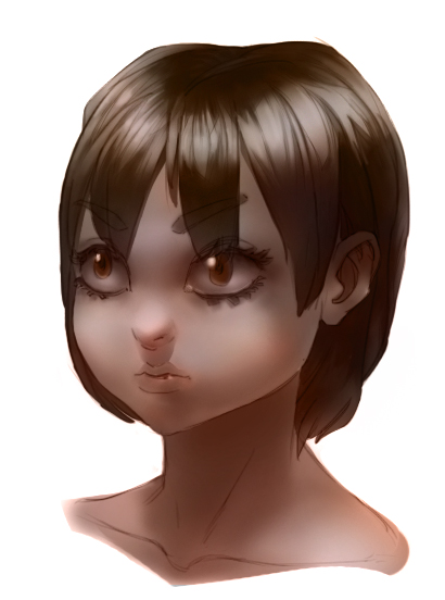Anime Portrait by RaymondLuk