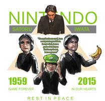 Tribute to Satoru Iwata - Rest in Peace by RaymondLuk