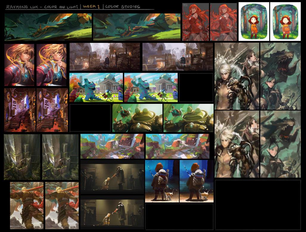 NF - Week 1 - Color studies by RaymondLuk