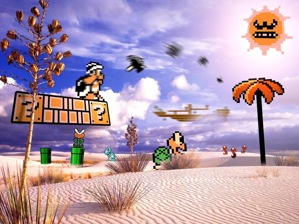 Retro Desert 'Mario Bros 3' by RETROnoob