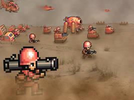 Retro War 'Advance Wars'