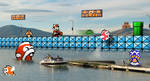 Retro Lake 'Mario Bros 3' by RETROnoob