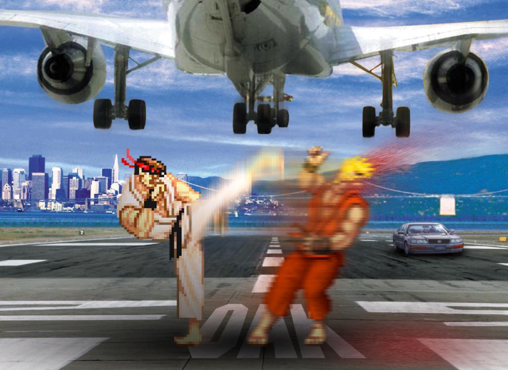 Retro Fight 'Street Fighter'