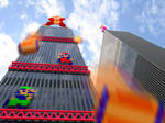 Retro Tower 'Donkey Kong'