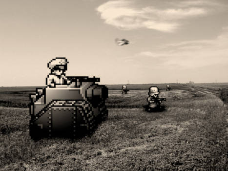 Retro Old War 'Advance Wars'