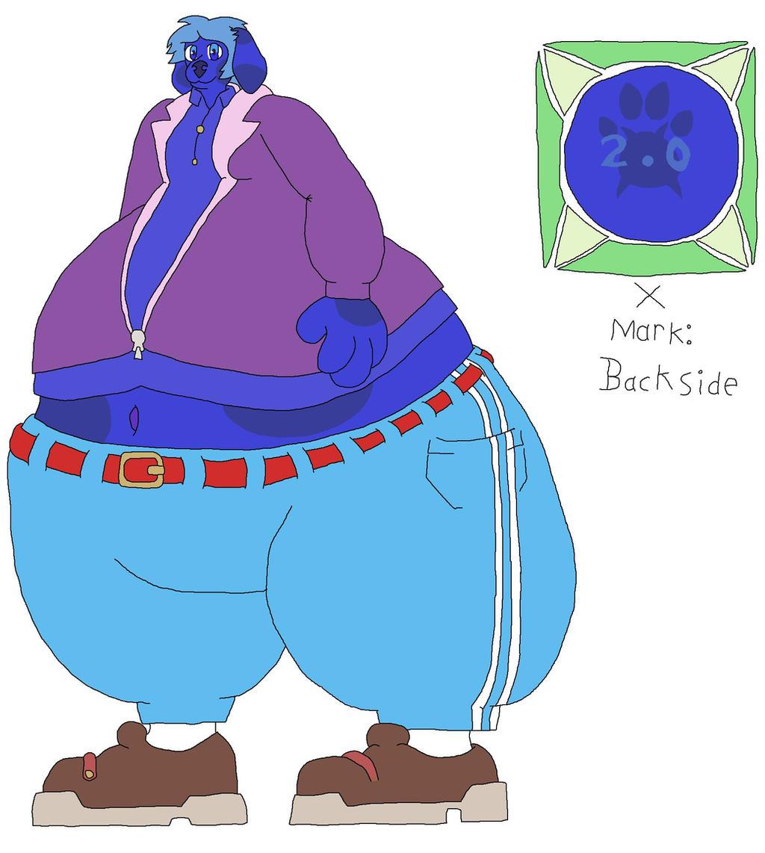 Violet [Blue] Beauregarde X2.0 by DanXGoodWolf on DeviantArt