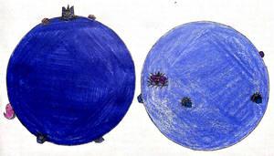 BlueUniBerry Twins