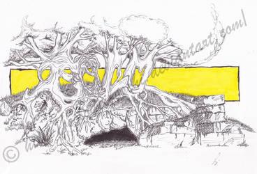 Graffiti: Trees by Eolodeiboschi