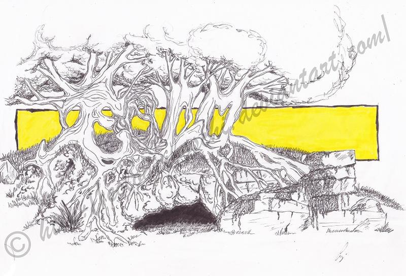 Graffiti: Trees