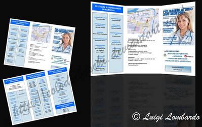 20140923 Brochure for Poliambulatorio San Giuseppe by Eolodeiboschi