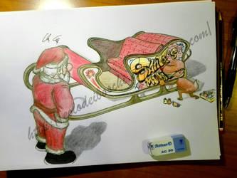 A present for Santa by Eolodeiboschi