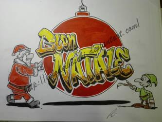 Merry Christmas 2018 (vers1) by Eolodeiboschi