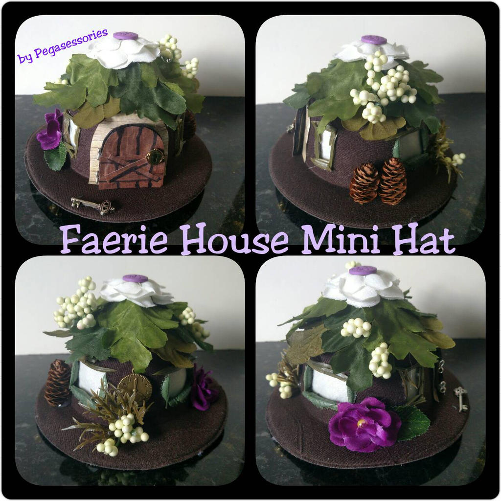 Faerie House Mini Hat by Smerkalot