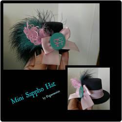 Sappho Mini Hat by Smerkalot