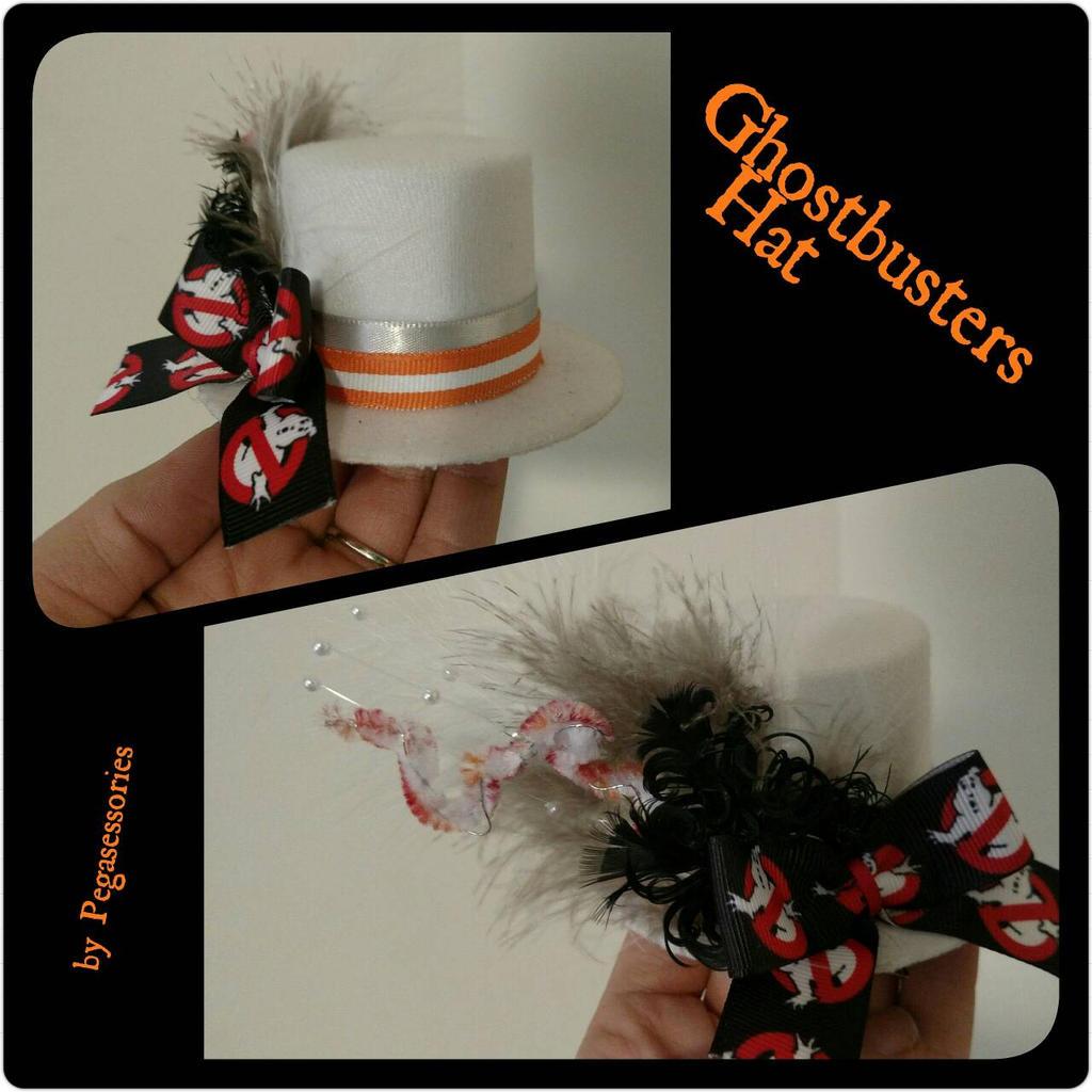 Mini Ghostbusters Hat by Smerkalot