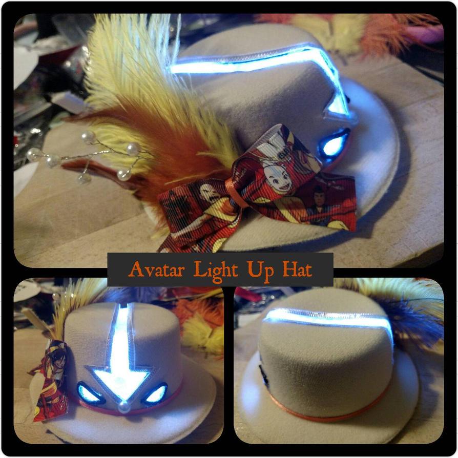 Mini Light Up Avatar Hat by Smerkalot