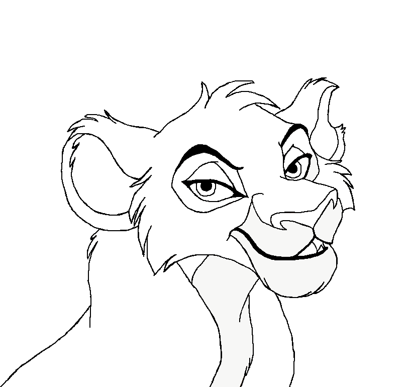 Lioness Head Drawing Head Lioness by Masha178