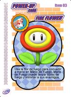 Fire Flower Card by CristopherOS