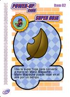 Super Leaf Card by CristopherOS