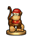 Diddy Kong - Super Smash Bros Trophy by CristopherOS