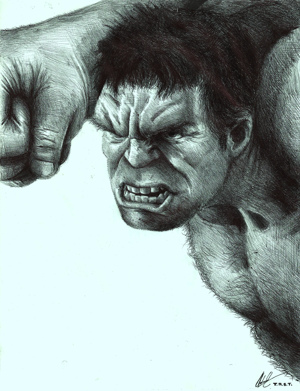 Marvel's The Avengers: The Incredible Hulk by EiDrianDM