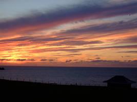 Night Time Sky Cornwall