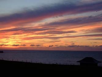 Night Time Sky Cornwall by Imtolazytothinkofone