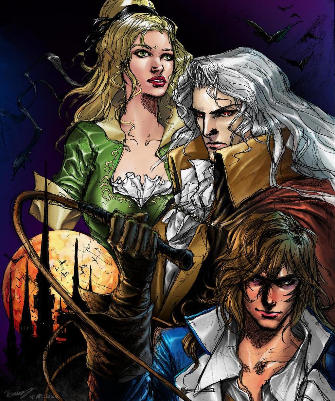 Castlevania SOTN by JoshBurns