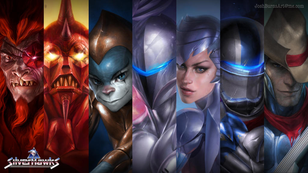 silverhawks wallpaper by joshburns on deviantart
