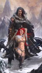 Conan and Sonya by JoshBurns