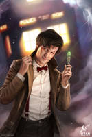 Doctor Who for Titan, the 11th Doctor by JoshBurns