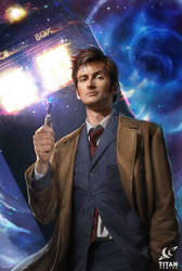 Doctor Who, the 10th Doctor issue 3.1 by JoshBurns