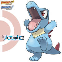 HGSS Totodile by ztak1227