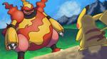 Magmortar VS Pikachu