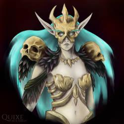 Lyonnde, Death Knight by Quixecosplay