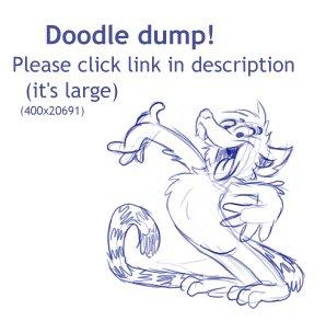 Doodle dump -large one- by Henrieke