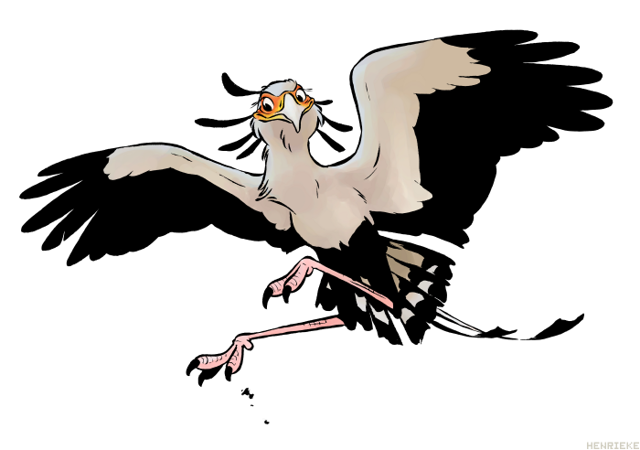 Maha of the Eyes Secretary_bird_by_henrieke-d31ankb
