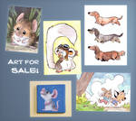 Art for sale!