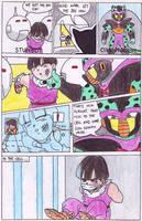 Gohan vs RedRibbon p3 by hirokada