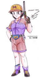 Sergeant Purple by hirokada