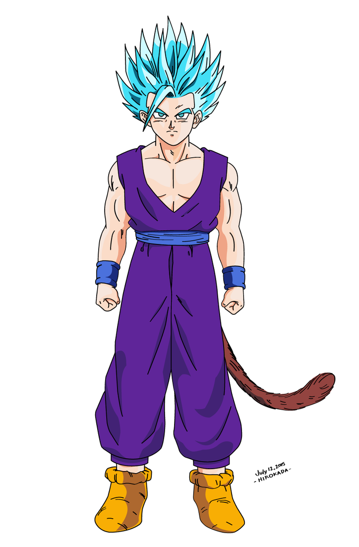 Super Saiyan God Super Saiyan 2 Adult Gohan by hirokada on ...